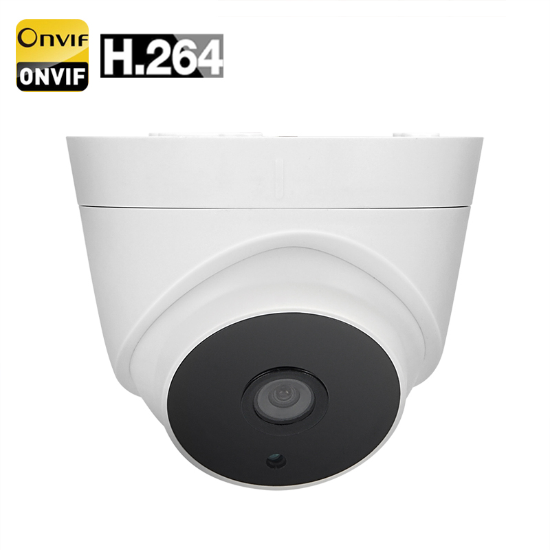 Indoor 720p IP Camera - 1/3 Inch CMOS, Android + iOS Support, 30M Night Visison, IR Cut, Snapshot Notification, ONVIF 2.0