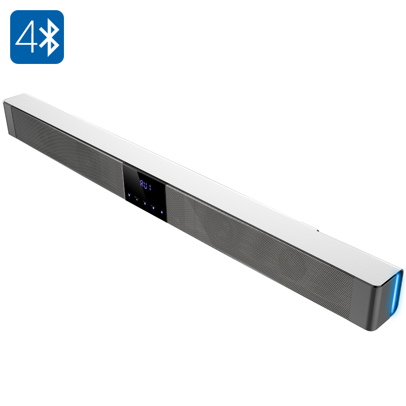 39.37 Inch 70 Watt 2.1 Channel Sound Bar 'Sound Wave' - Bluetooth 4.0, Bass, Optical, Micro SD Slot, Touch key, Remote