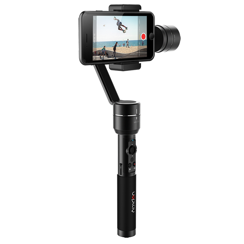 AIbird Uoplay 2 Handheld Gimble - 3 Axis Handheld Stabilizer, Face Tracking, Smartphones Up To 5.5 Inches, GoPro Action Cameras