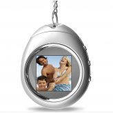 PictureMax P1 - Keychain Digital Photo Frame (Silver)