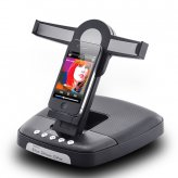 Foldable HiFi Speaker Dock Stand for iPad, iPhone, iPod