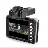 720P Dual Camera Car DVR (H.264 Video Compression)