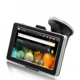 CyberNav Mini - Android 2.2 Tablet GPS Navigator with 5 Inch Touchscreen (WiFi, 4GB, FM Transmitter)