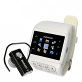 Dual SIM Touchscreen Mobile Phone Watch with Keypad