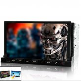 Car DVD with 7 Inch Detachable Android 2.3 Tablet Panel