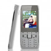 Kapital - Slim Bar Phone - White (Dual SIM, Worldwide Quadband GSM)