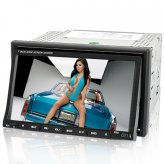 Street Wolf 2-DIN In Dash Car DVD with 7 Inch High-Def Touchscreen (GPS, DVB-T)