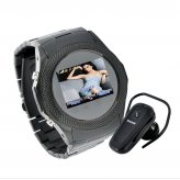 Assassin Dusk - Touchscreen Mobile Phone Watch + MP4 (Worldwide Quadband GSM)