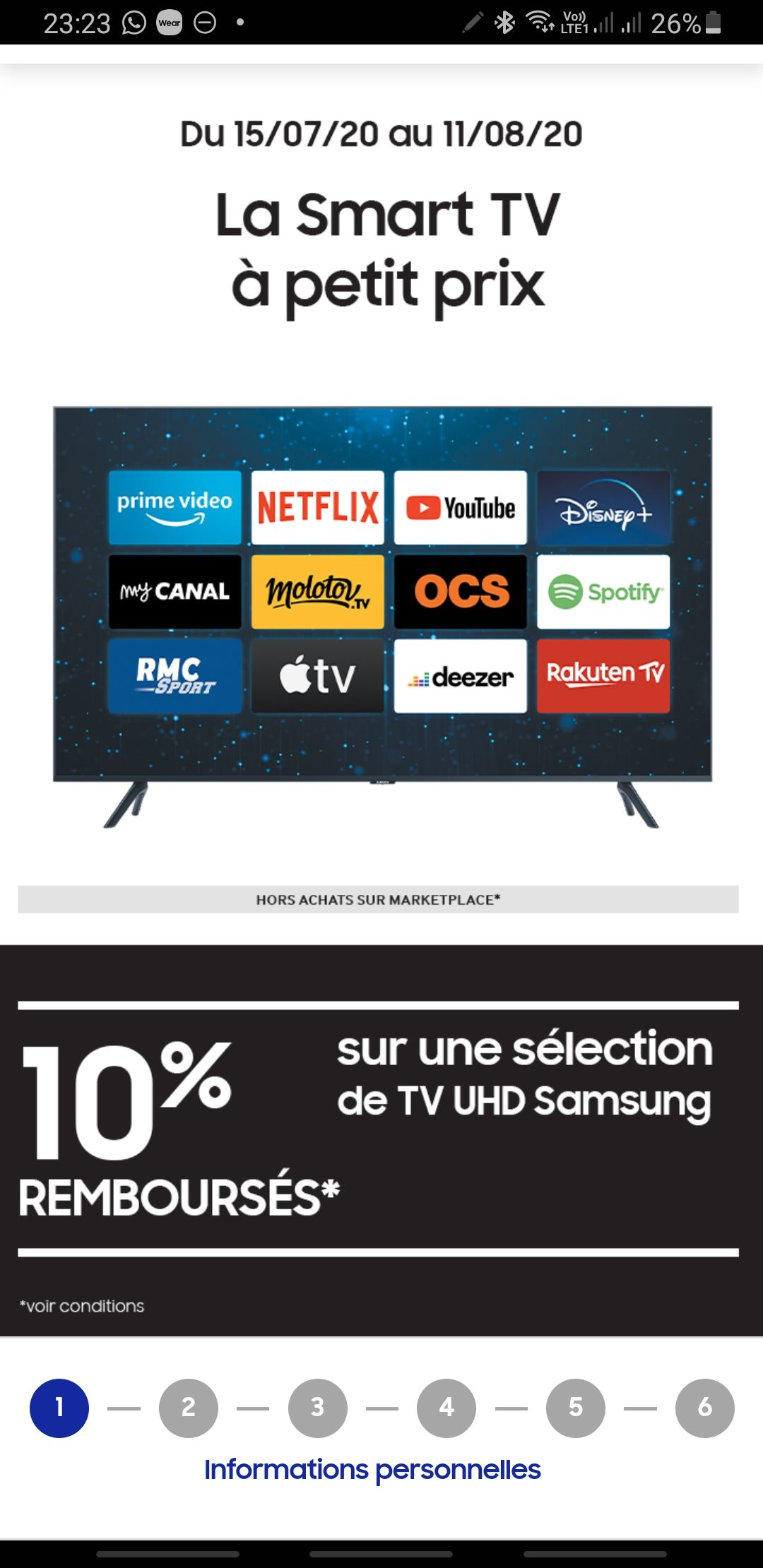 www samsung com fr offer smart tv a