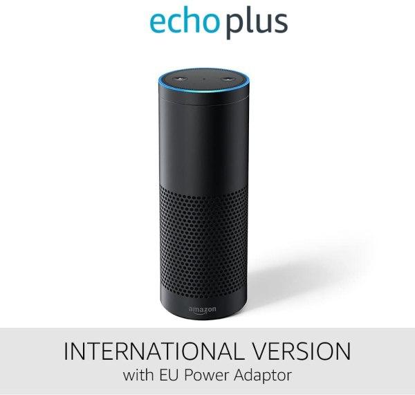 Amazon Echo Plus International Version with EU Power Adaptor
