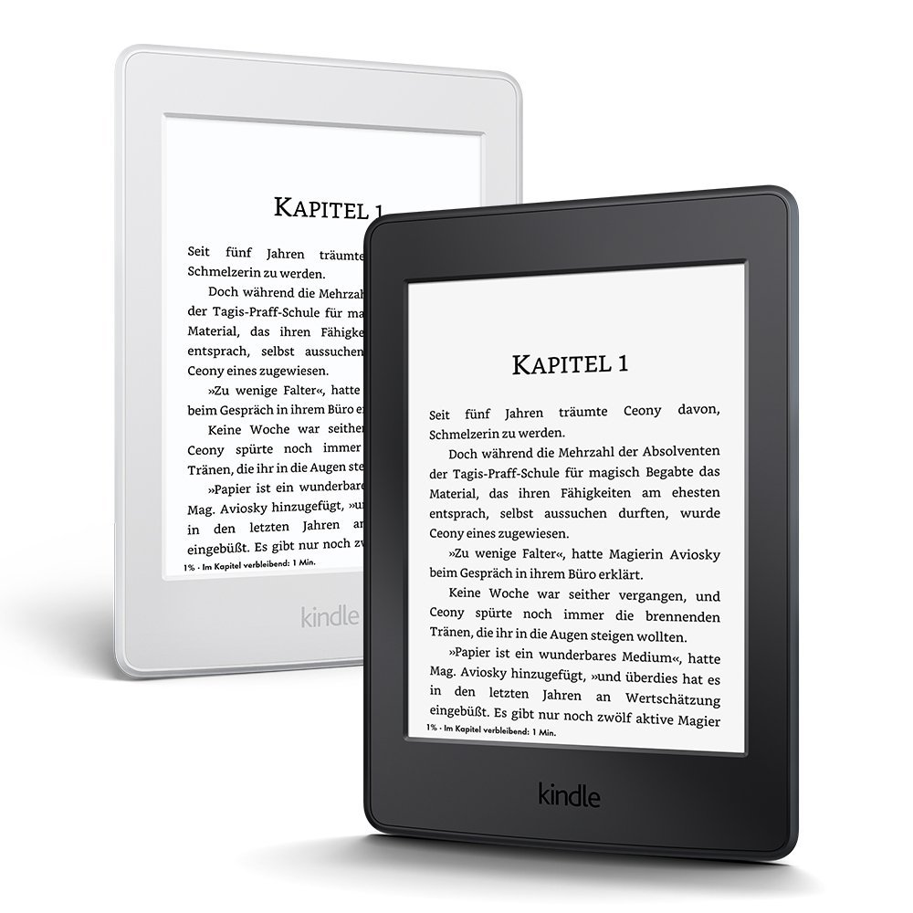 Amazon Kindle Paperwhite E-reader without Special Offers