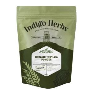 Indigo Herbs Organic Triphala Powder 250g