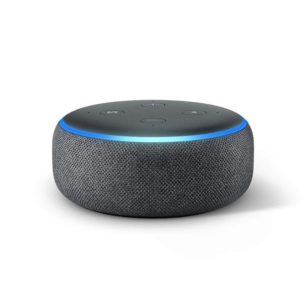 Amazon Echo Dot 3rd Generation with EU Power Adaptor
