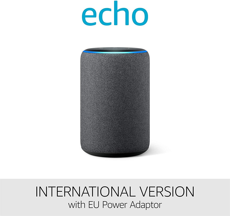 Amazon Echo International Version with EU Power Adaptor