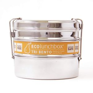 Ecolunchbox Stainless Steel Tri Bento