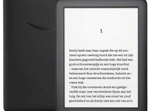 Kindle E-reader for the Netherlands - 4 GB (Black)
