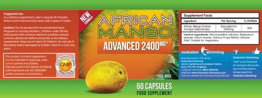 EVO_AfricanMangoAdvanced2400mg_Label