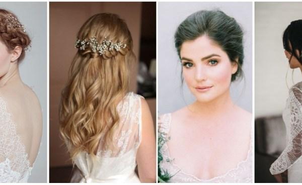 Tendência noiva com beleza natural