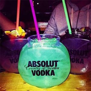 instagram picture of Absolut Vodka
