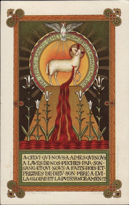 Through+the+Holy+Spirit+offered+himself+without+blemish+to+God+(LATIN)