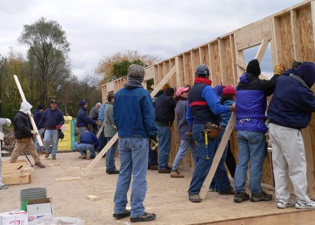 Jeffries Family Habitat Home Build