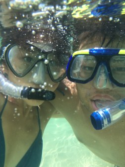 Hello from underwater!