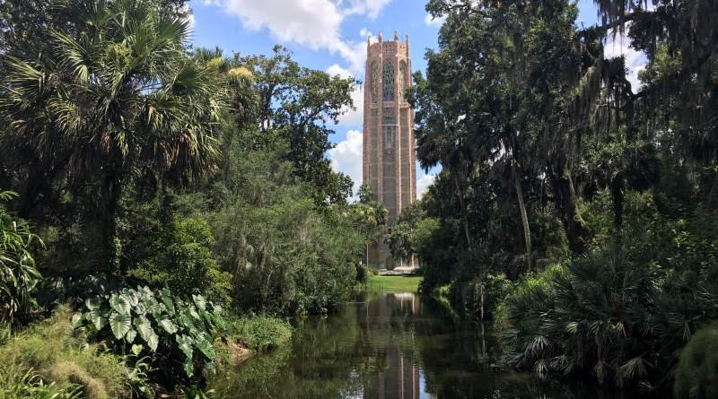 bok tower gardens em central florida orlando