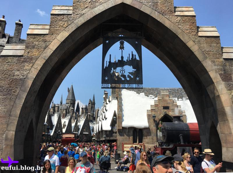 islands of adventure universal entrada hogsmead