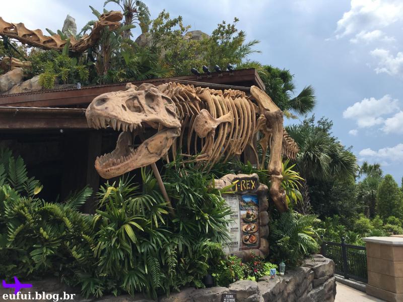 disney springs orlando t-rex restaurante