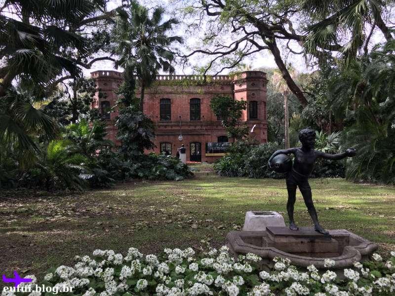 jardim botanico de buenos aires argentina estatua predio