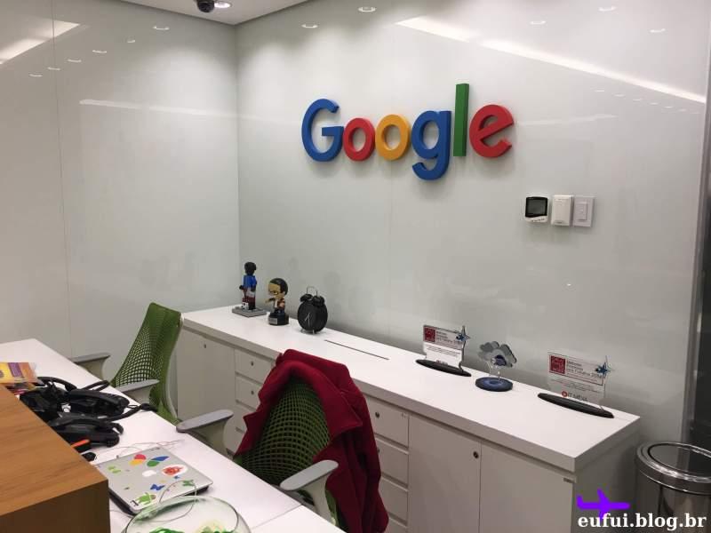 escritório do google sao paulo recepção