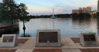 lake eola downtown orlando florida
