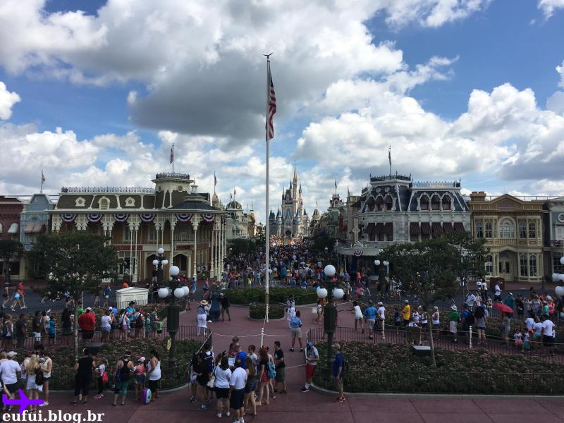 orlando magic kingdom walt disney world main street