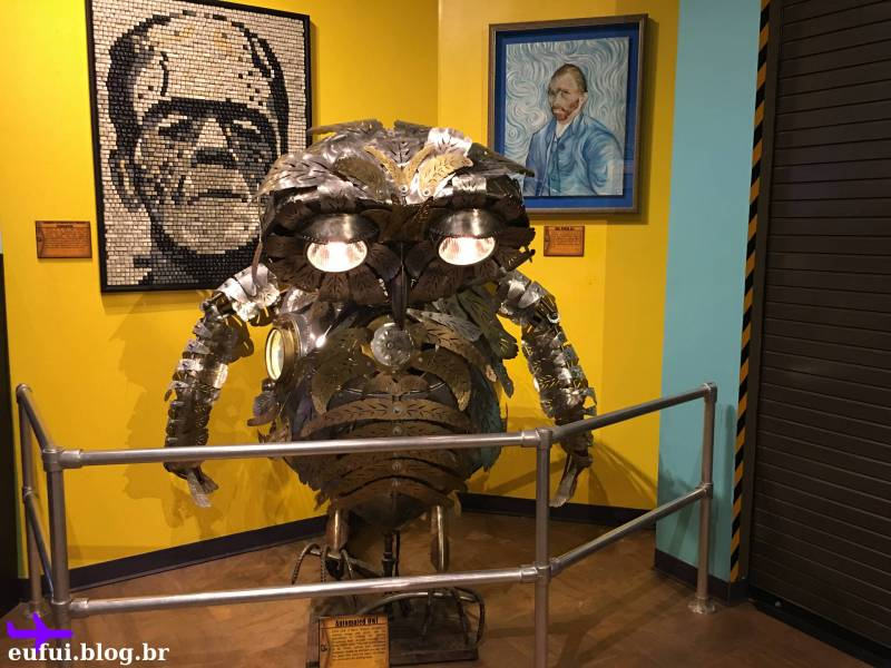 Ripley's Believe it or Not orlando florida coruja