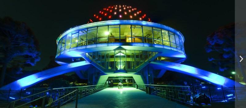 Planetario Galileo Galilei buenos aires noite