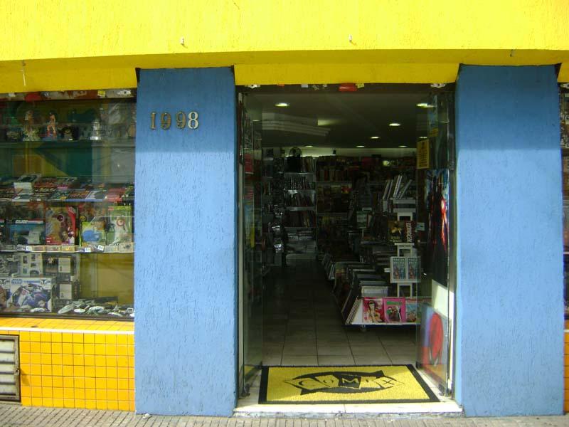 Lugares Geek em São Paulo - Loja Comix