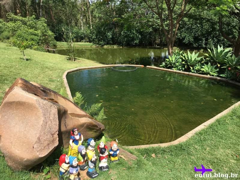 Lago no Sitio Sassafraz em Itupeva Interior de São Paulo