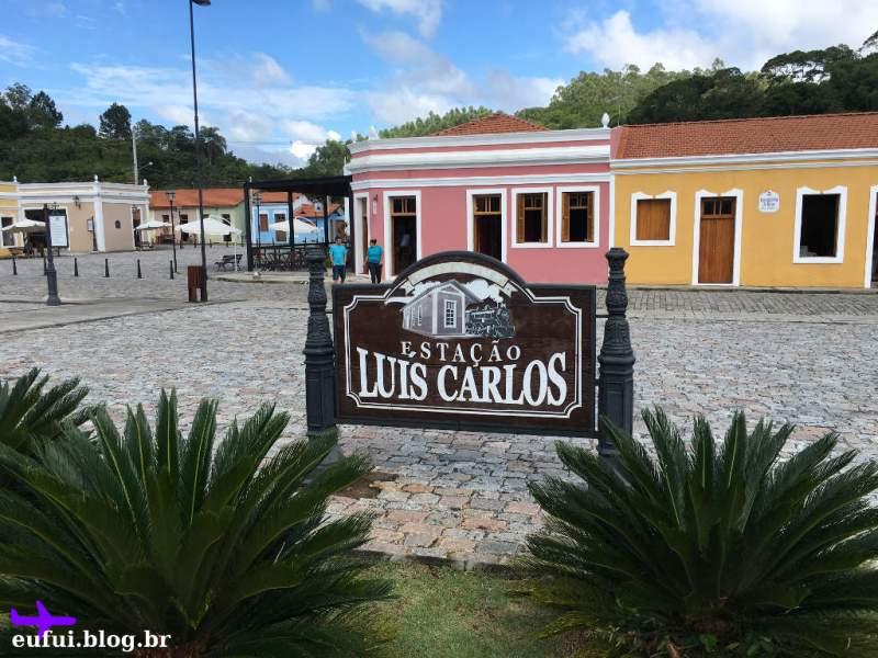 Trem de Guararema - Estação Luis Carlos