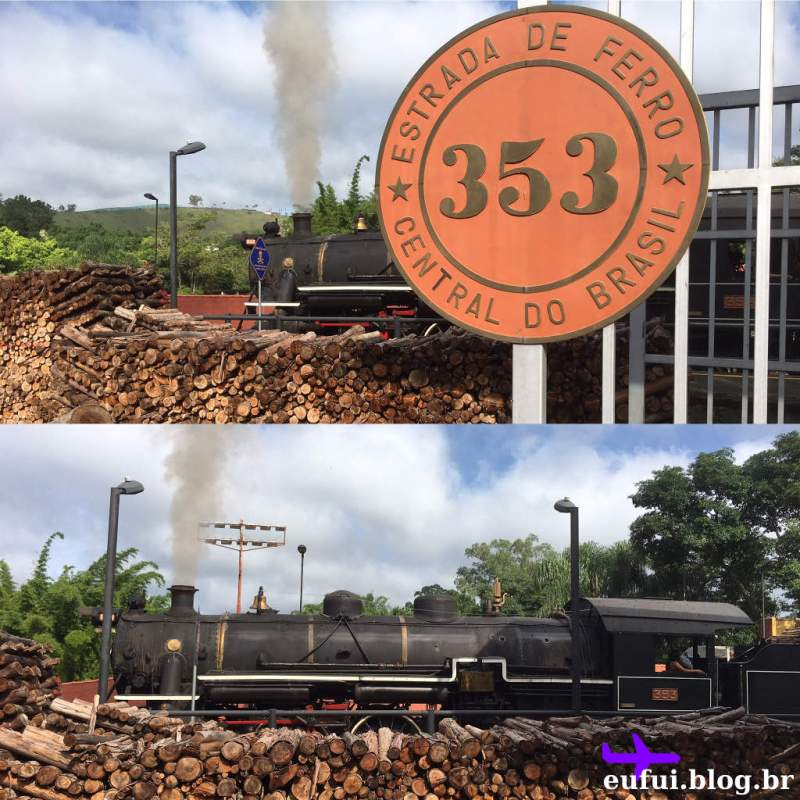 Trem de Guararema - Locomotiva 353