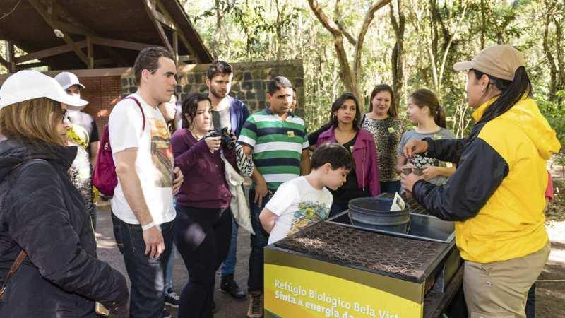 Refugio Biologioco em Itaipu Foz do Iguaçu