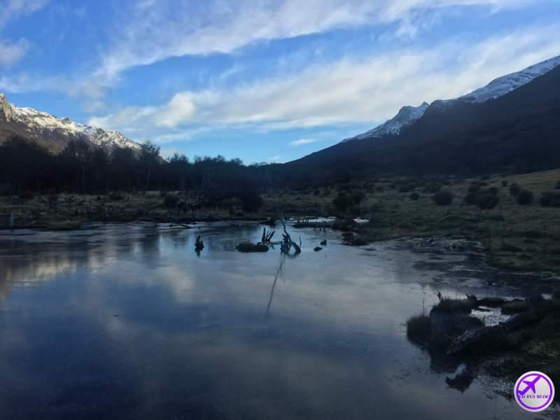 Trem do Fim do Mundo em Ushuaia - Lago Congelado