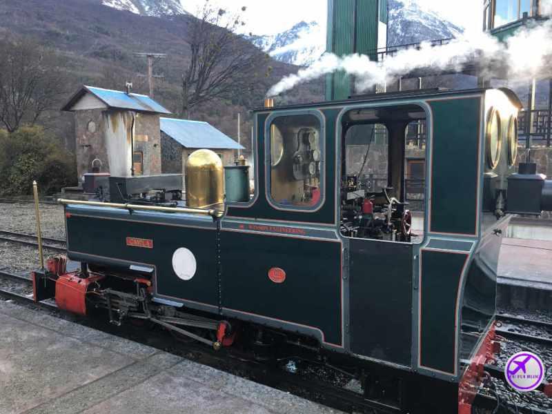 Ushuaia - Locomotiva Camila do Trem do Fim do Mundo