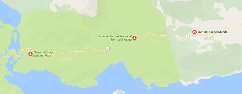 Trem do Fim do Mundo em Ushuaia Ruta 3