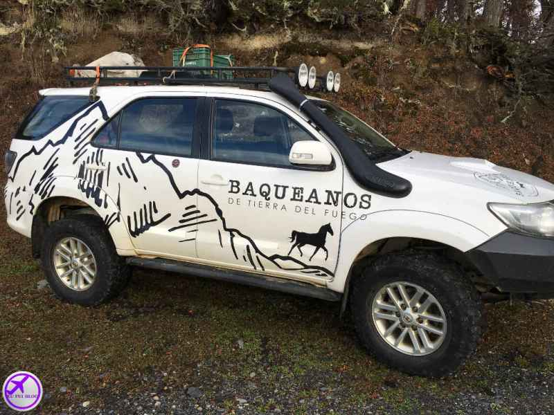 4x4 em Ushuaia - Baqueanos - Argentina