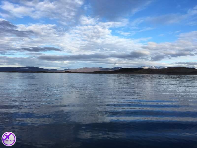 Navegação Canal do Beagle - Ushuaia - Horizonte e Água Cristalina