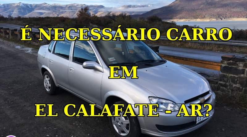 Alugar Carro em El Calafate - Argentina