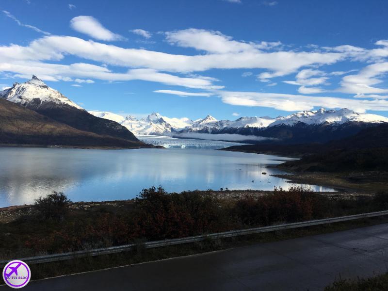 Ruta 11 dentro do Parque Nacional Los Glaciares - Glaciar Perito Moreno - El Calafate - Argentina