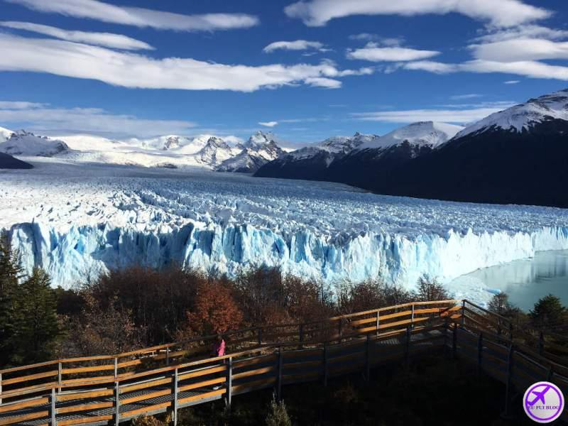 Mirante de Glaciar perito Moreno em El Calafate - Argentina