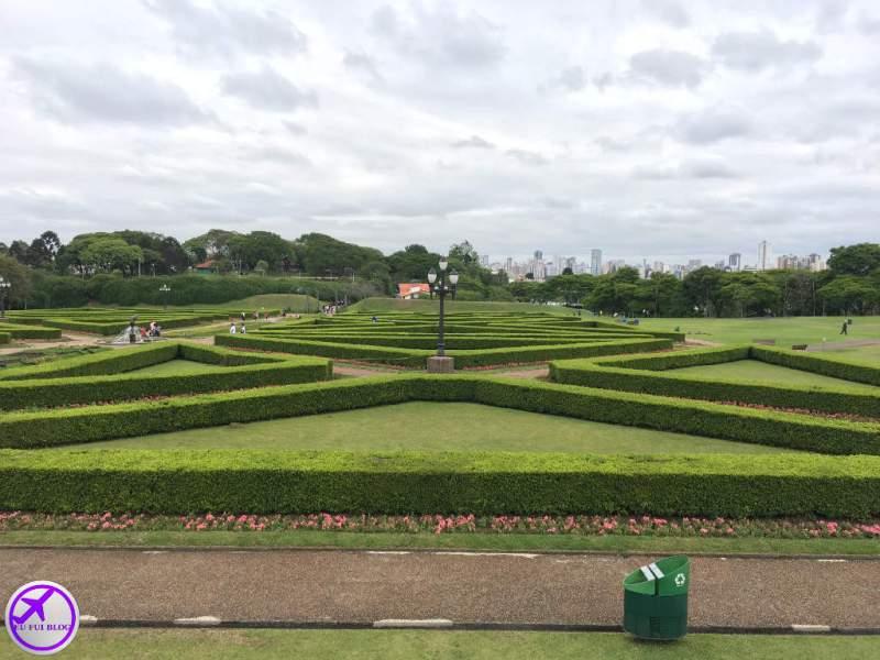 Canteiro Geométrico do Jardim Botânico de Curitiba - Paraná