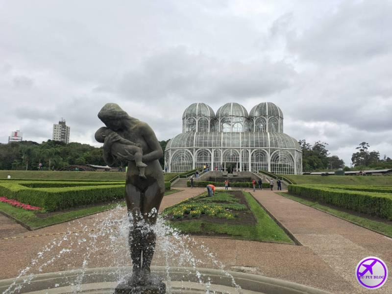 Estufa do Jardim Botânico de Curitiba - Paraná